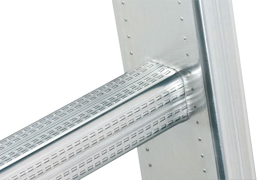 escalera transformable hailo 2x9 est curvo 2 73 x 4 25 ref 17892322 leroy merlin. Black Bedroom Furniture Sets. Home Design Ideas