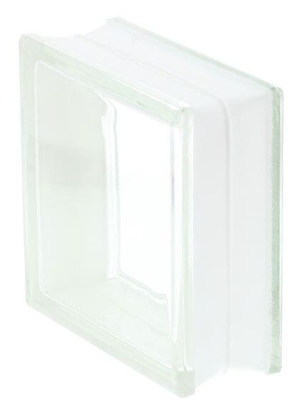 Bloque de vidrio liso transparente ref 12912634 leroy - Bloques de cristal ...