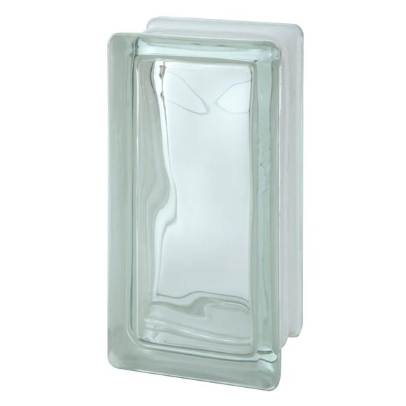 Bloque de vidrio ondulado incoloro ref 13593083 leroy - Bloques de cristal ...