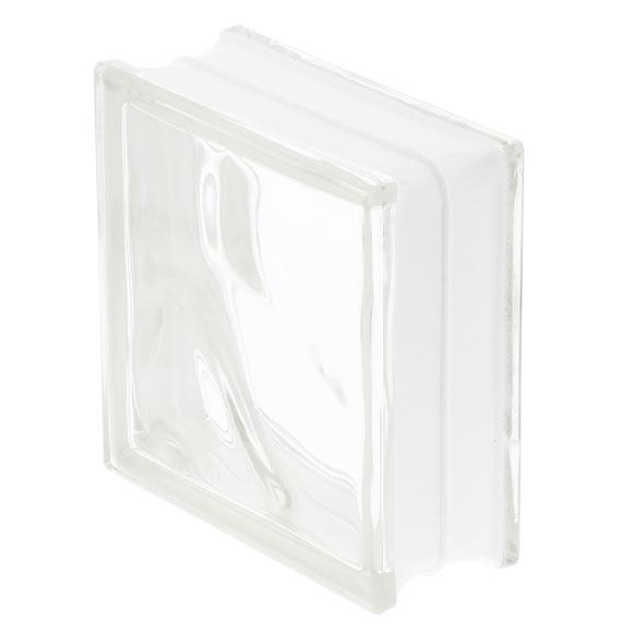 Bloque de vidrio basic ondulado incoloro ref 17401055 - Bloque de vidrio precio ...