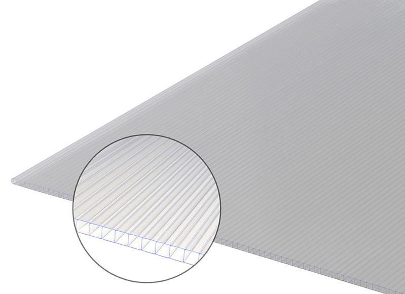 Placa policarbonato celular sedpa ref 10784221 leroy merlin - Placa de policarbonato celular ...