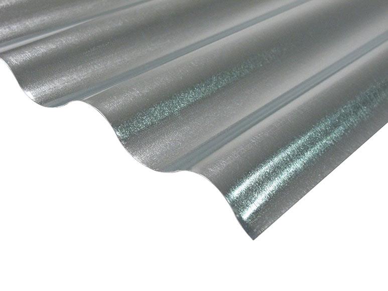 Tejados de chapa galvanizada excellent la sierra de for Chapa ondulada galvanizada