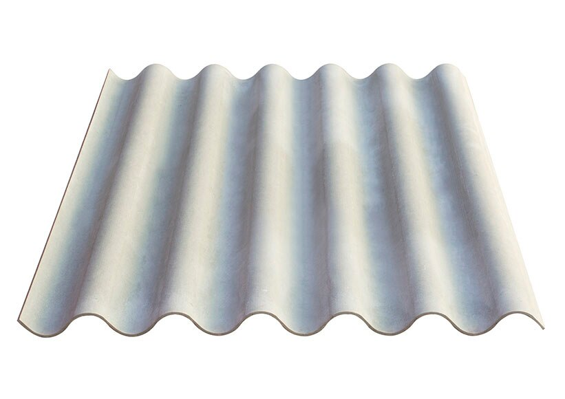 Placa de fibrocemento euronit ref 16249632 leroy merlin for Fibrocemento sin amianto