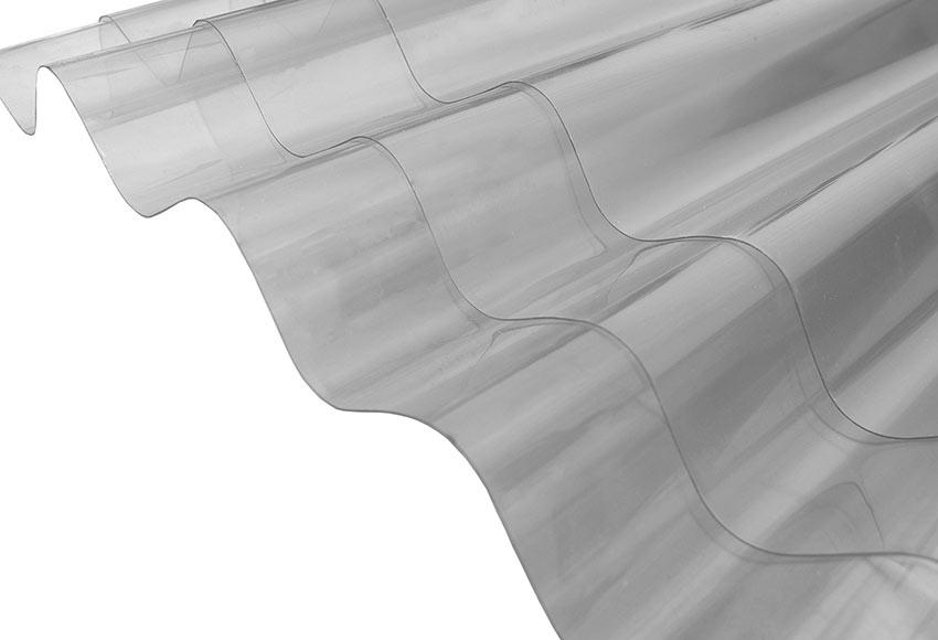 Placa de policarbonato con peque a onda onduline ref - Planchas de policarbonato precios ...