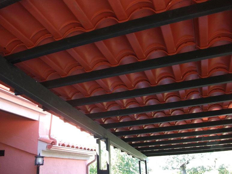 5 placas imitaci n teja roofeco ref 19945884 leroy merlin for Placa imitacion teja