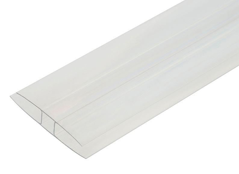 Perfil h policarbonato 2m placas 10mm ref 15999116 - Placa policarbonato precio ...