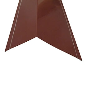 ROOFTILE VIERTEAGUAS RED GALV ROJO 120MM