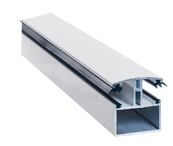Perfiles union ral 9010 blanco 3m ref 18571952 leroy merlin for Perfil u aluminio leroy merlin
