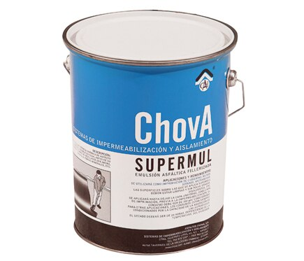 Emulsi n asf ltica supermul n 25 kg ref 11628372 leroy for Guaina bituminosa leroy merlin