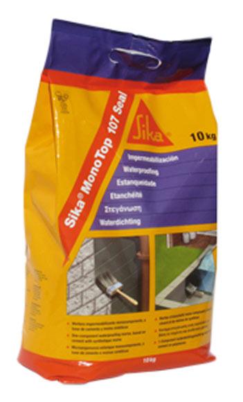 Mortero impermeabilizante sika sika monotop 107 seal ref for Mortero para juntas exterior