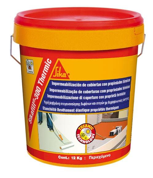 Producto impermeabilizante para terrazas materiales de for Pintura impermeabilizante sika
