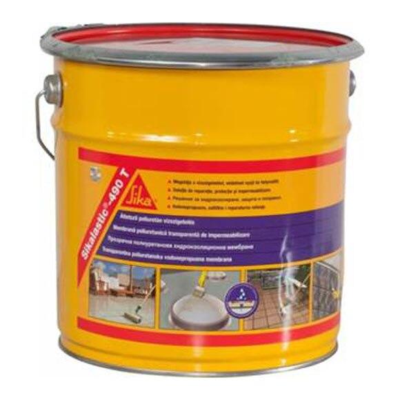 Impermeabilizante l quido transparente sikalastic 490t ref for Impermeabilizante para estanques de agua