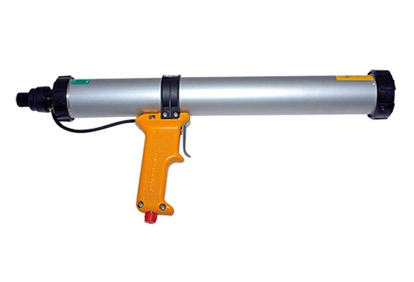 Pistola de silicona sika neum tica salchich n 600 ref for Pistola de pegamento o de silicona
