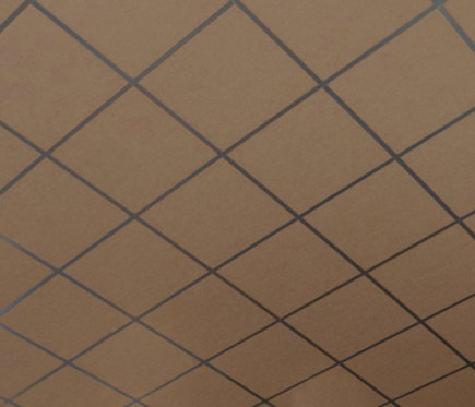 24 placas de techo ac stico eurocoustic tonga marr n ref 16838360 leroy merlin - Placas de techo desmontable ...