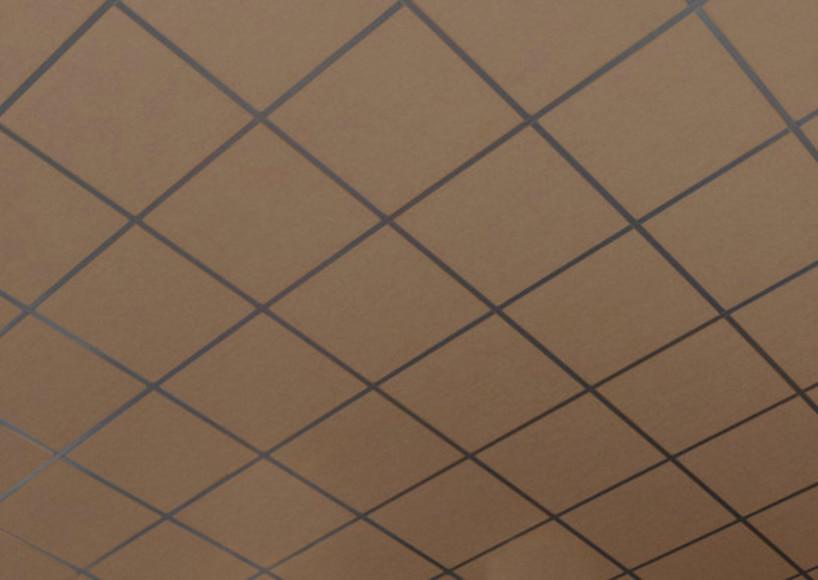 24 placas de techo ac stico eurocoustic tonga marr n ref for Pladur leroy merlin techo