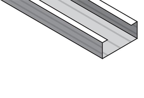 Perfil para techo continuo placo 45x16x5300 mm ref for Pladur leroy merlin techo