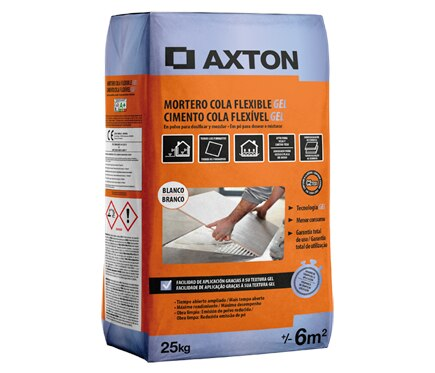 Axton Mortero cola FLEXIBLE GEL 25KG