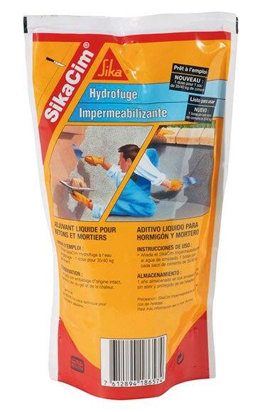 Aditivo impermeabilizante para mortero y hormig n sika for Productos sika para piscinas