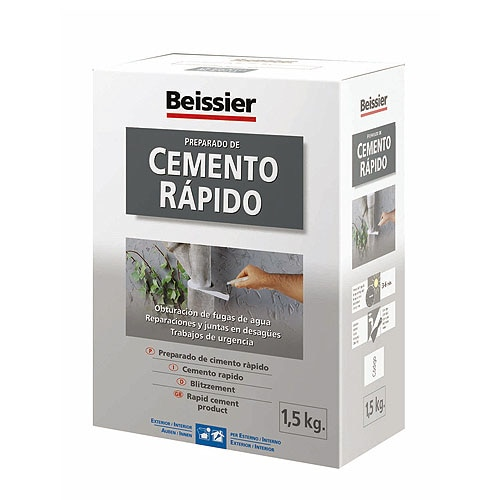 Cemento blanco beissier cemento r pido ref 754670 leroy for Balaustre in cemento leroy merlin