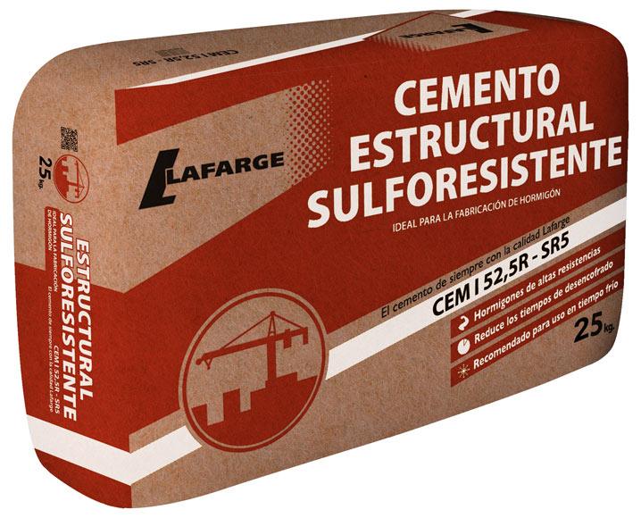 Saco de cemento lafarge gris 52 5 s r5 25kg ref 19730914 for Cordoli in cemento leroy merlin