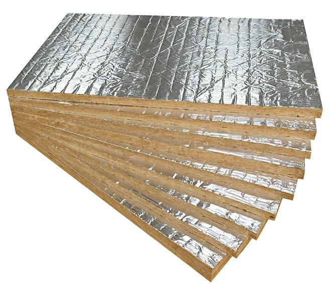 Panel de aislamiento ac stico t rmico l r firerock c for Aislamiento lana de roca