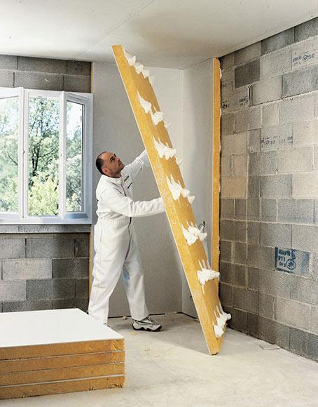 Placa de aislamiento ac stico t rminco placo calibel - Aislamiento acustico paredes interiores ...