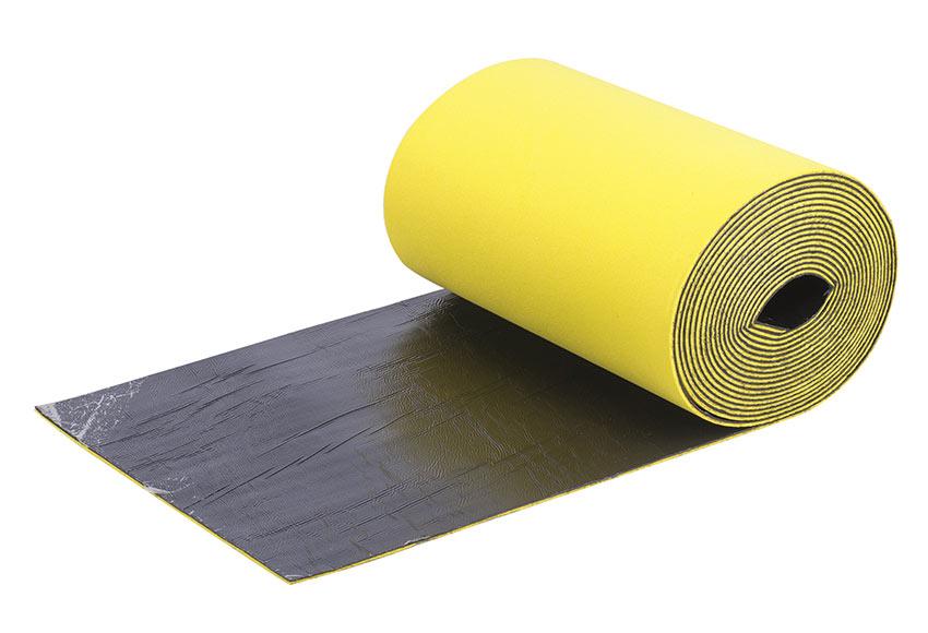 Aislante autoadhesivo materiales de construcci n para la - El material aislante ...