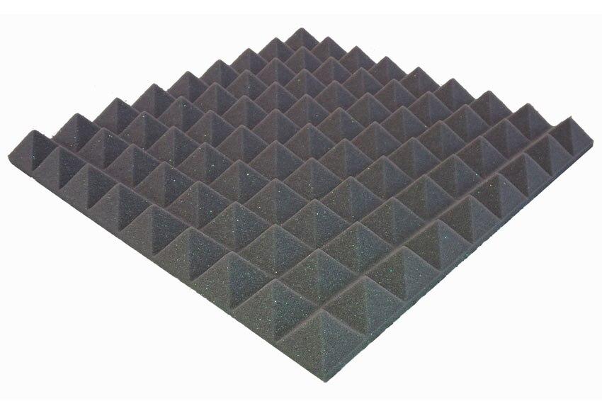Absorbente ac stico chova piramidal autoadhesivo ref for Leroy merlin isolamento acustico