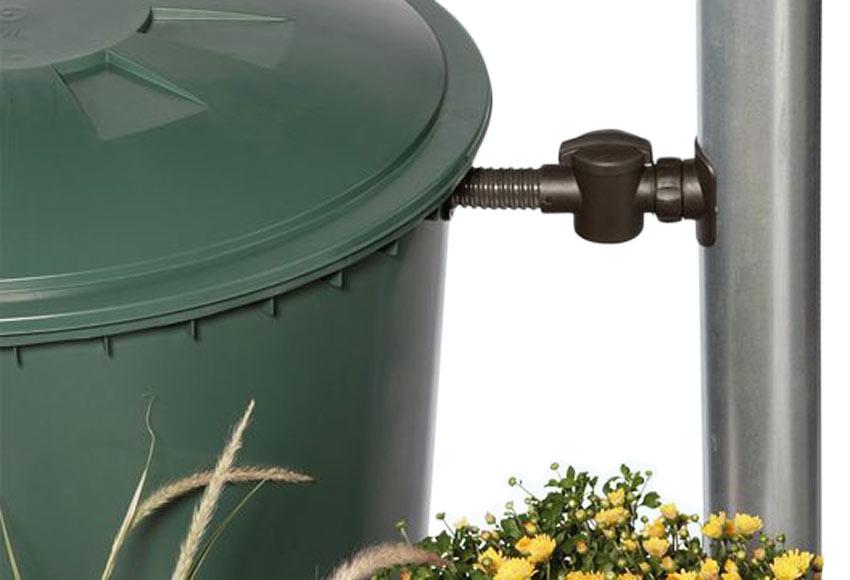 Dep sito de agua redondo 210l verde ref 13854435 leroy for Deposito agua leroy merlin