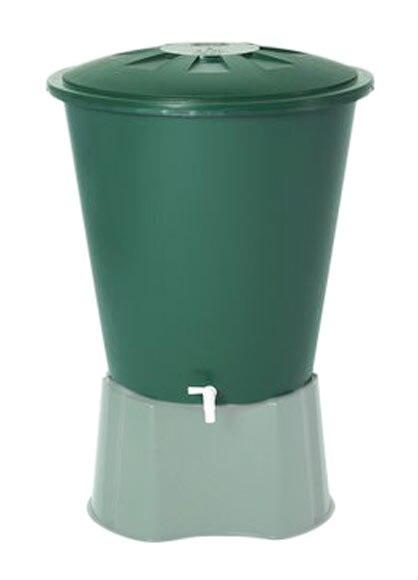 Dep sito de agua redondo 510l verde ref 13854463 leroy for Deposito agua leroy merlin