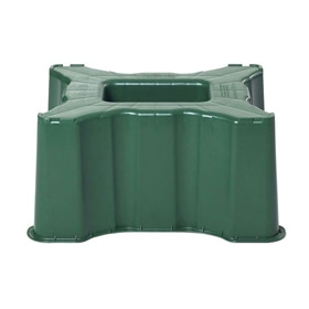 Dep sito de agua rectangular 520l verde ref 13854491 for Deposito agua leroy merlin
