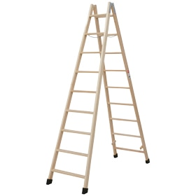 escalera de madera peldaos m barniz