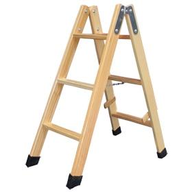 Escalera madera peque a materiales para la renovaci n de la casa - Fabricar escalera de madera ...