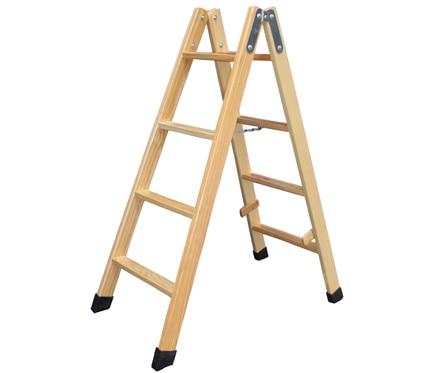 Escalera de madera 4 4 pelda os barniz ref 19150222 - Pintura para escaleras ...