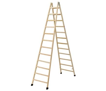 Escalera de madera haya 12 pelda os 3 5m barniz ref for Escaleras 3 peldanos amazon