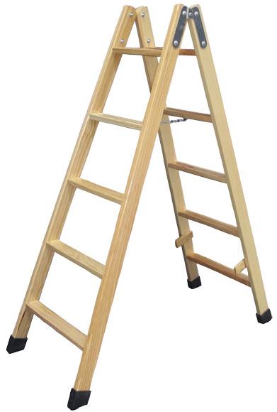Escalera de madera 5 5 pelda os sin barniz ref - Escaleras leroy merlin ...
