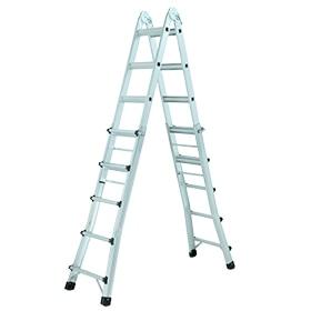 Escaleras multifunci n y telesc picas leroy merlin for Escalera multifuncion aluminio