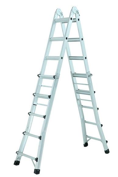 Escalera multifunci n aluminio master 5x5 pelda os ref for Escalera aluminio 5 peldanos