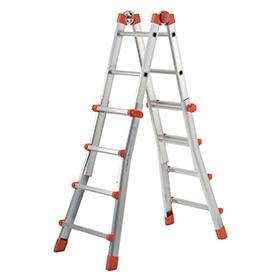 Escaleras multifunci n y telesc picas leroy merlin - Escaleras extensibles de aluminio ...