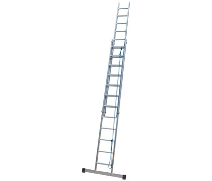 Escalera con cuerda 2 tramos ext con cuerda de aluminio - Escaleras de cuerda ...