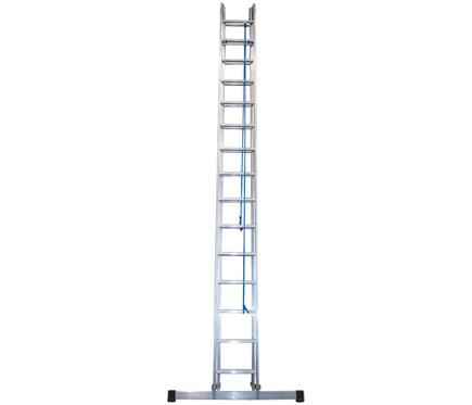 Escalera con cuerda 2 tramos ext aluminio con cuerda 2x15 - Escaleras de cuerda ...
