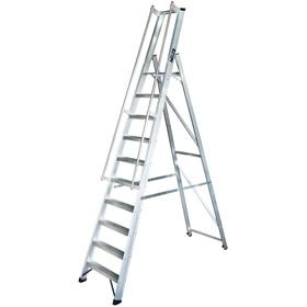Escaleras de almac n y plataforma leroy merlin - Escaleras para almacen ...