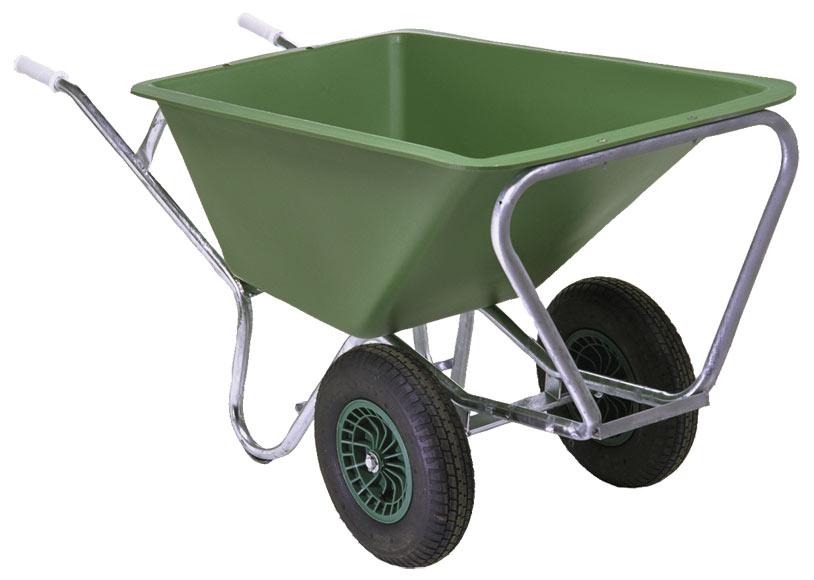 Carretilla agr cola 2 ruedas cuba hdpe 160 litros ref - Ruedas de carretillas ...