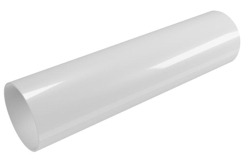 Tubo circular 80mm 3m blanco ref 19442101 leroy merlin for Cassettiere trasparenti leroy merlin