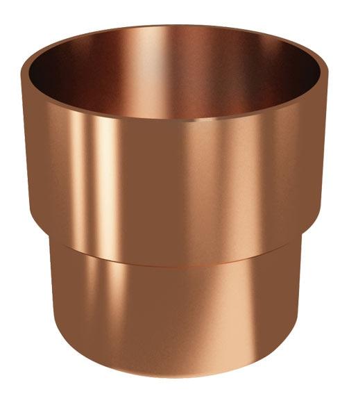 Uni n canalones classic cobre ref 19442241 leroy merlin - Canalon de cobre ...