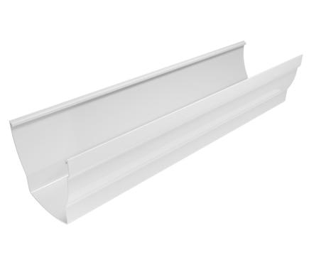 Canal n elegance blanco ref 19442444 leroy merlin - Precio de canalones de pvc ...