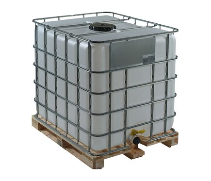 Depósito de agua IBC 1000L EDD Ref. 16438044 - Leroy Merlin