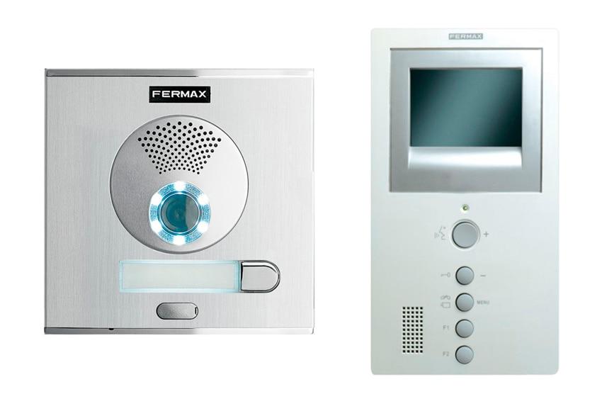 videoportero fermax videocity ref 17433360 leroy merlin