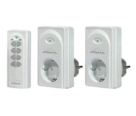 Kit de mando a distancia y enchufes oh haus ref 14542885 - Enchufes mando a distancia ...