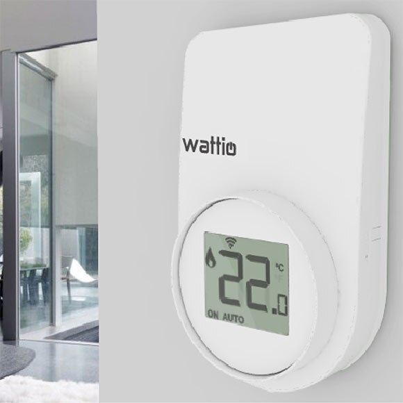Termostato inteligente wattio thermic ref 17003840 for Termostato leroy merlin